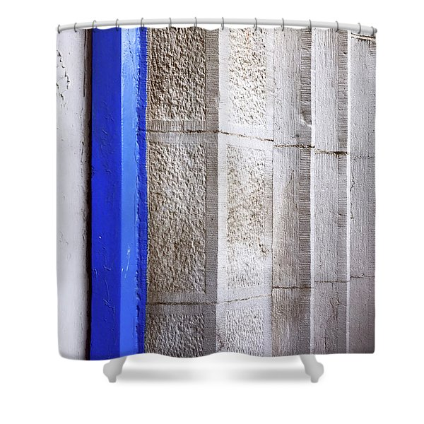 St. Sylvester's Doorway Shower Curtain
