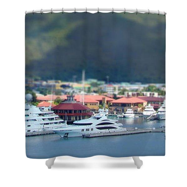 St. Thomas Us Virgin Islands Shower Curtain