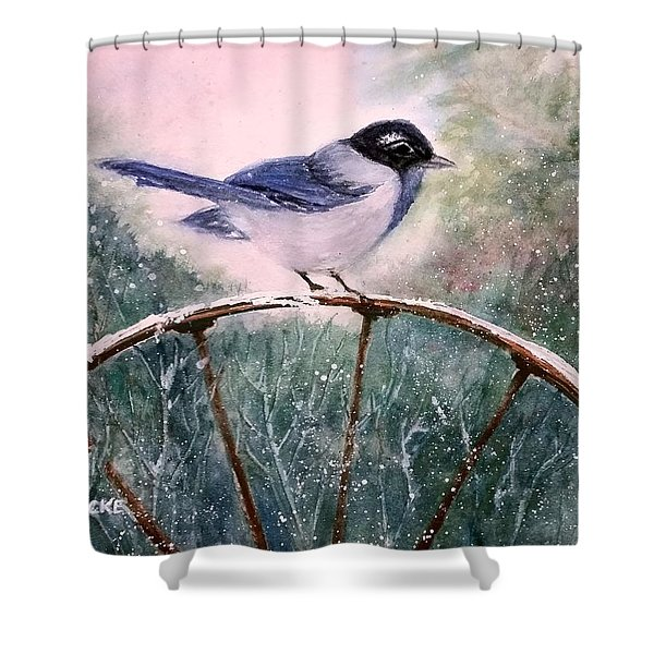 Stability Shower Curtain