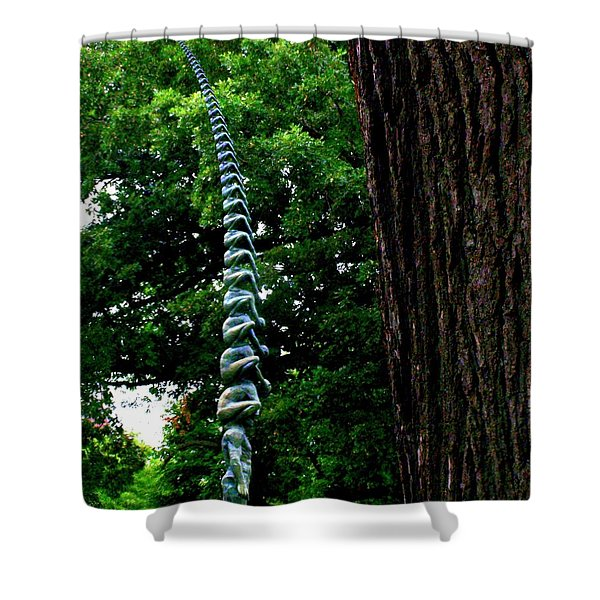 Stacking Infinity Shower Curtain
