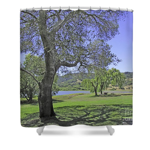 Stafford Lake Beauty Shower Curtain