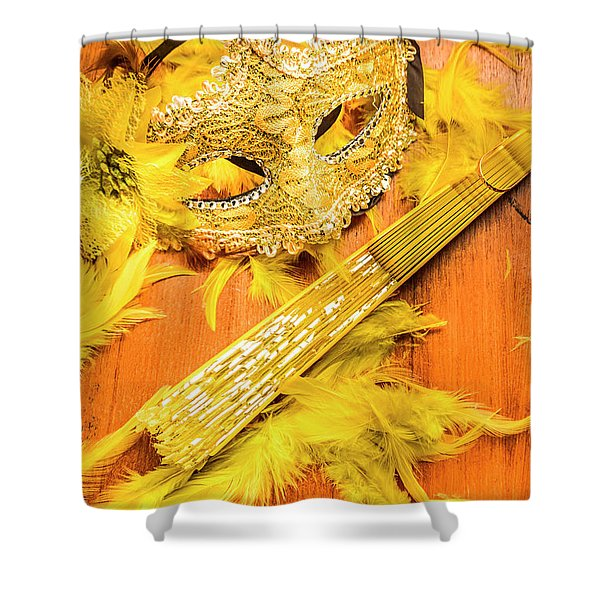 Stage And Dance Still Life Shower Curtain