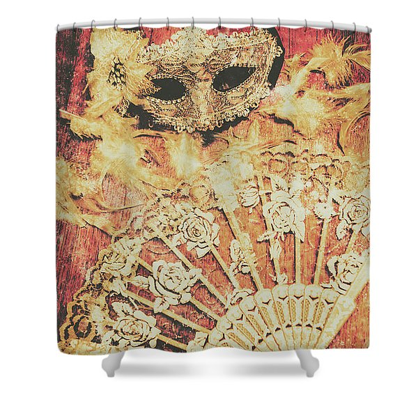 Stage Of Venice Shower Curtain