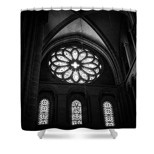 Stained Glass, St.peter's Cathedral Shower Curtain