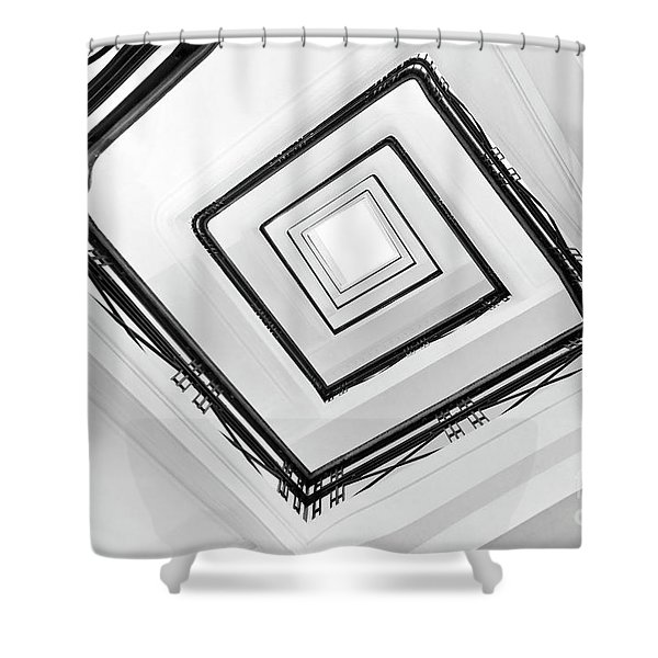 Staircase Shower Curtain
