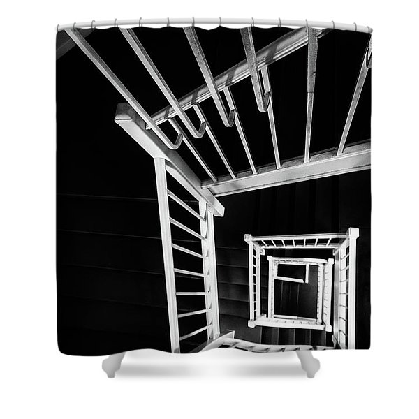 Staircase I Shower Curtain