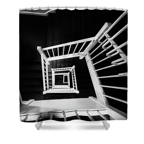 Staircase II Shower Curtain