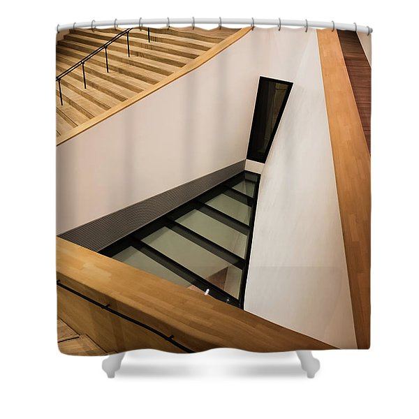 Staircase In Elbphiharmonic Shower Curtain