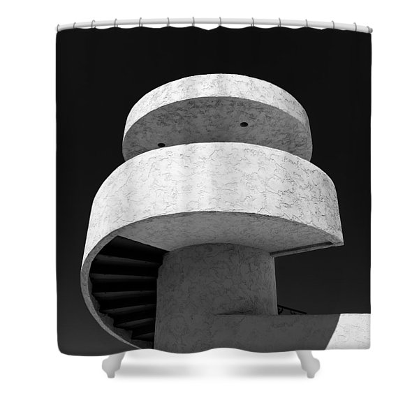Stairs To Nowhere Shower Curtain