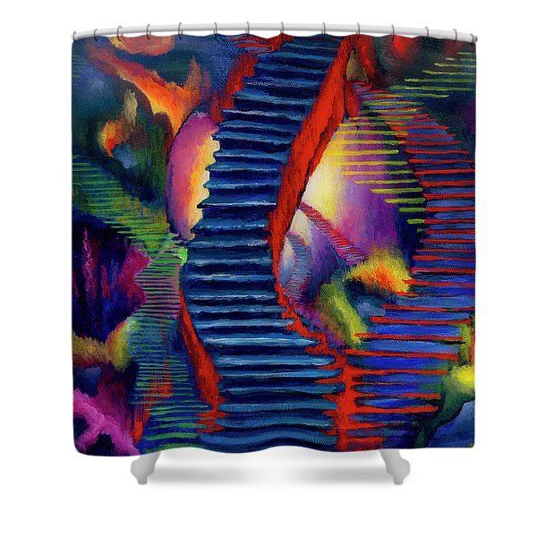 Stairways Shower Curtain