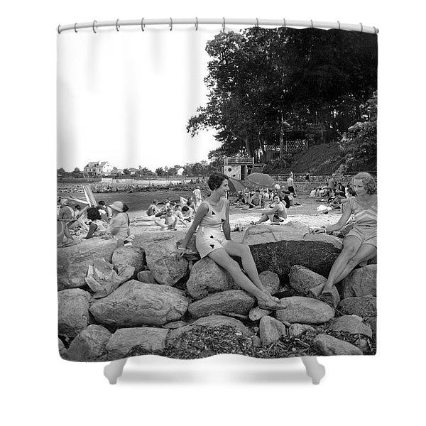 Stamford Shorewood Beach Club Shower Curtain