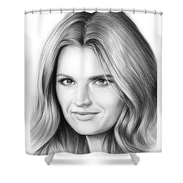 Stana Katic Shower Curtain