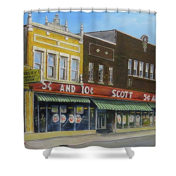 Stand Again Shower Curtain