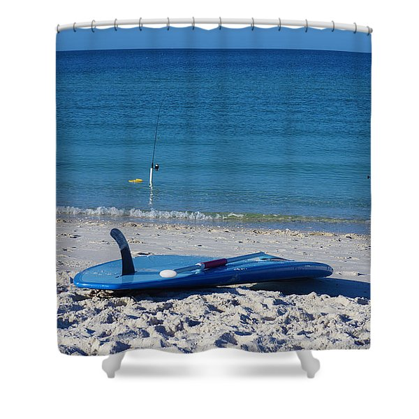 Stand Up Paddle Board Shower Curtain