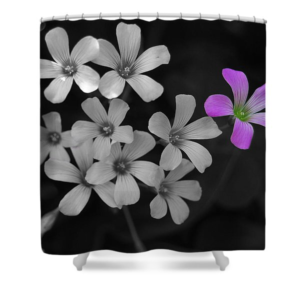 Stand Up Stand Out Shower Curtain