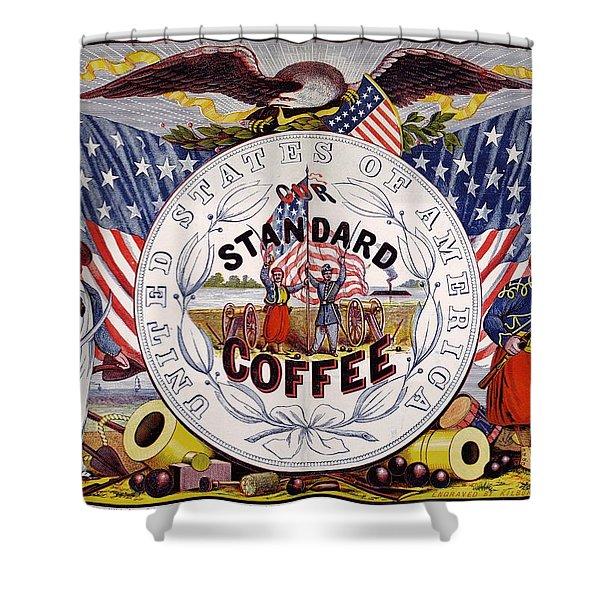 Standard Coffee Shower Curtain