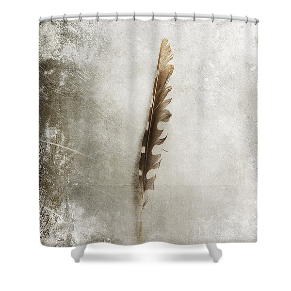 Standing Feather Shower Curtain
