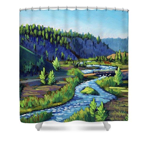 Stanley Creek Shower Curtain