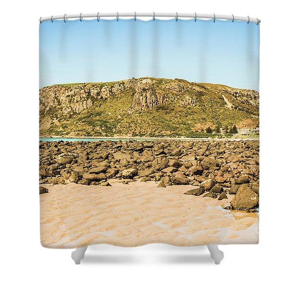Stanley Seascape Shower Curtain