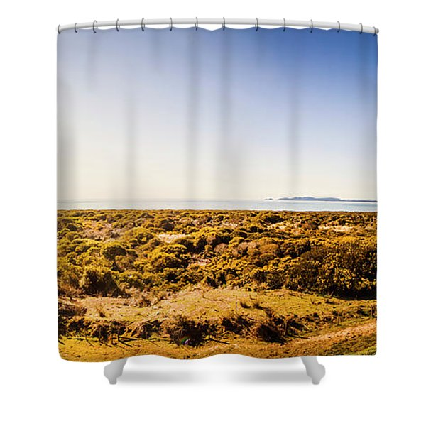 Stanley Wide Country Shower Curtain