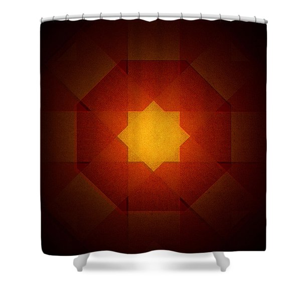Star 1 Shower Curtain