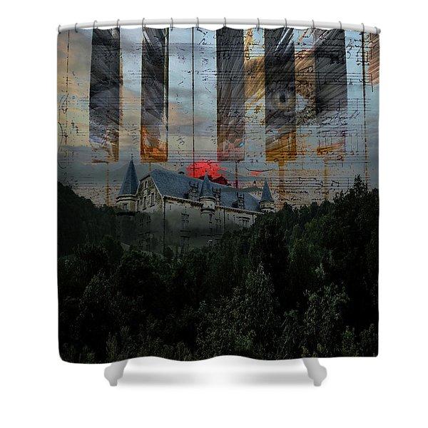 Star Castle Shower Curtain