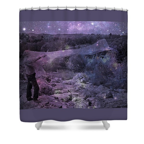 Star Catcher Shower Curtain