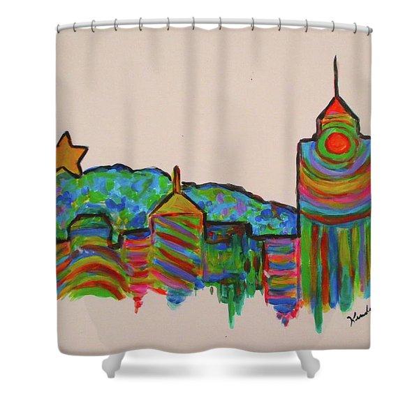 Star City Play Shower Curtain