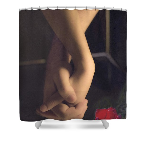 Shower Curtain featuring the photograph Star-crossed by Break The Silhouette