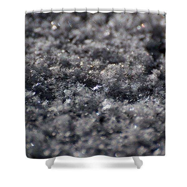 Shower Curtain featuring the photograph Star Crystal by Jason Coward
