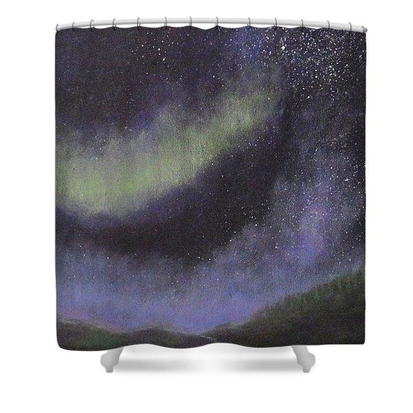 Star Path Shower Curtain