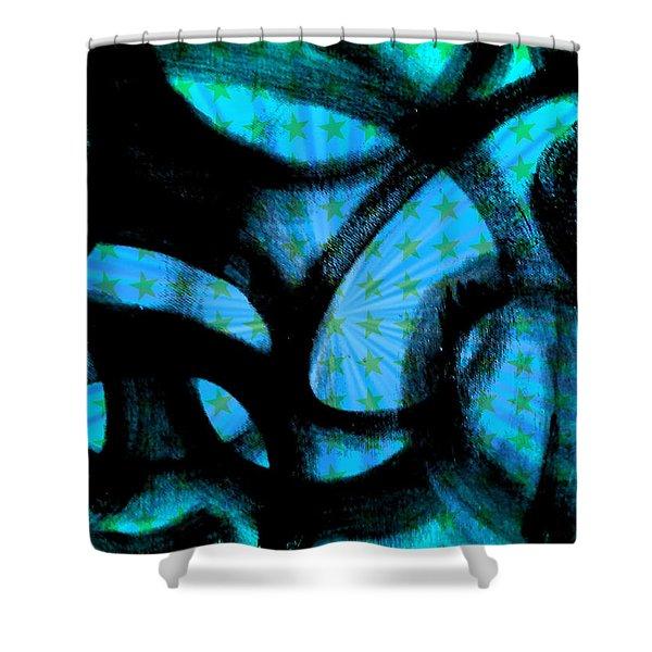Star Soul Shower Curtain