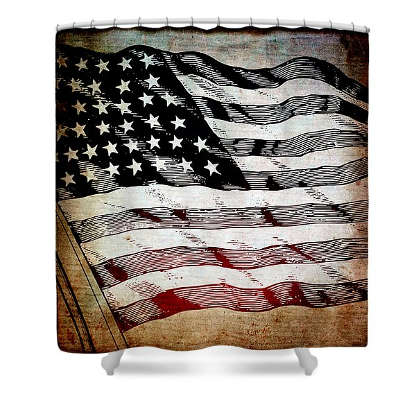Star Spangled Banner Shower Curtain
