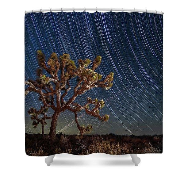 Star Spun Shower Curtain