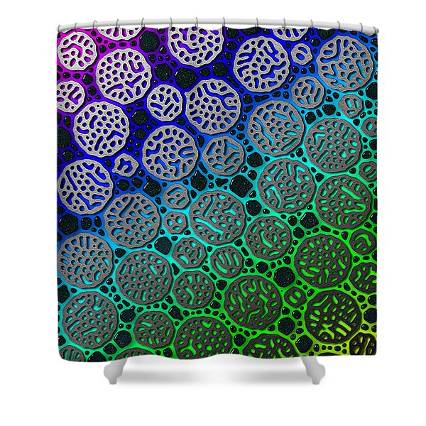 Star Stones Shower Curtain