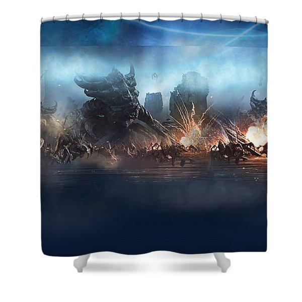 Starcraft II Shower Curtain