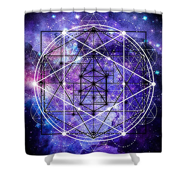 Shower Curtain featuring the digital art Stardust by Bee-Bee Deigner