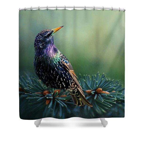 Starling Shower Curtain