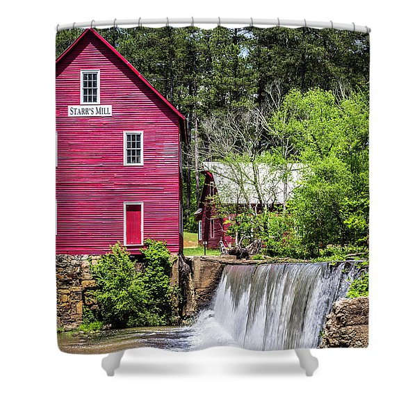 Starr's Mill 2 Shower Curtain