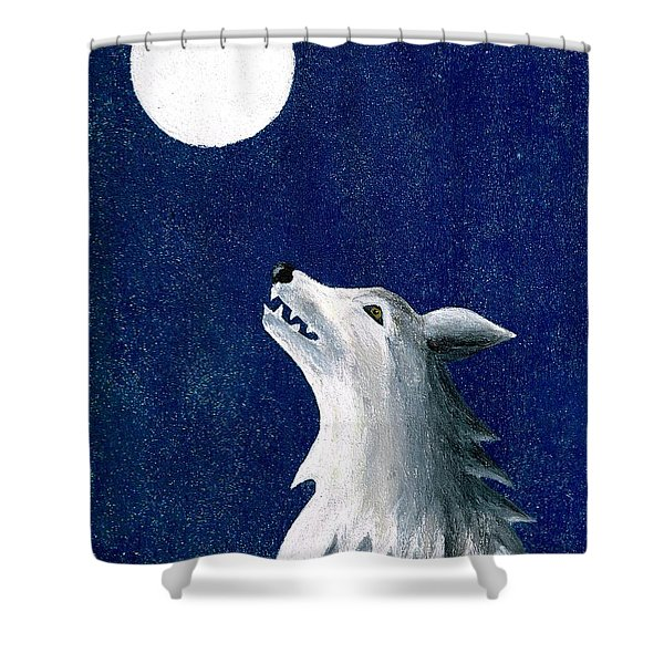 Starry Night Shower Curtain