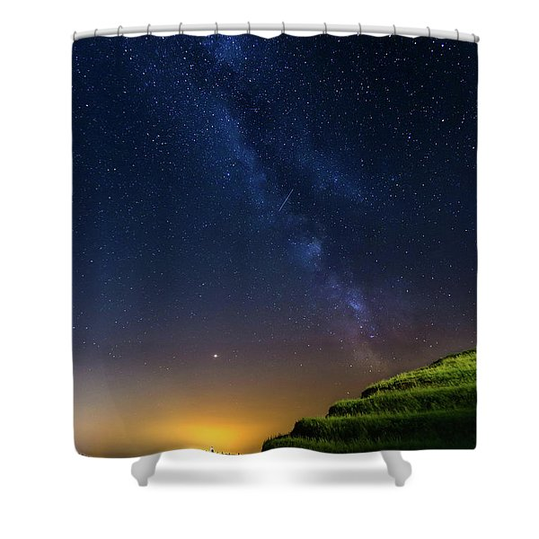 Starry Sky Above Me Shower Curtain