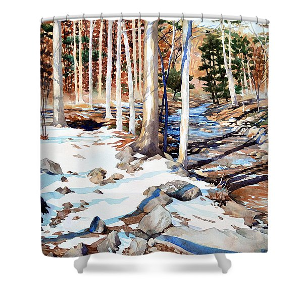 Start Of The Journey Shower Curtain