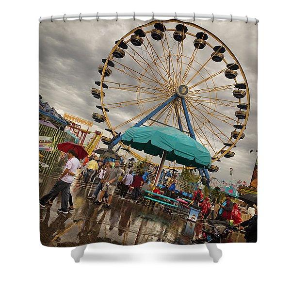 State Fair Of Oklahoma II Shower Curtain