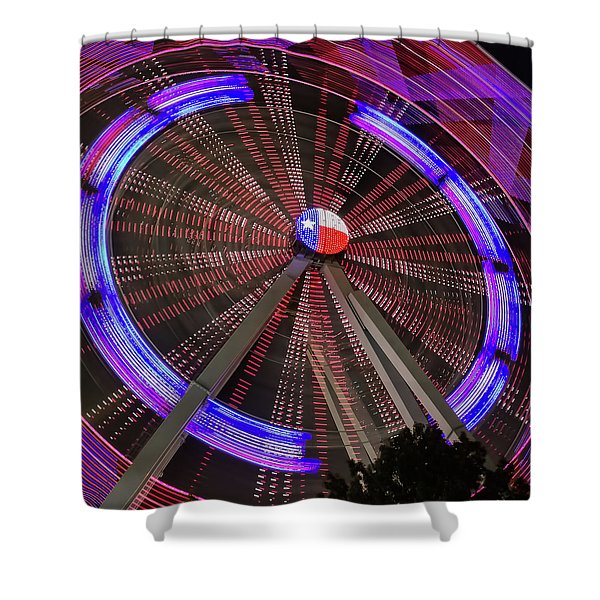 State Fair Of Texas Ferris Wheel Shower Curtain