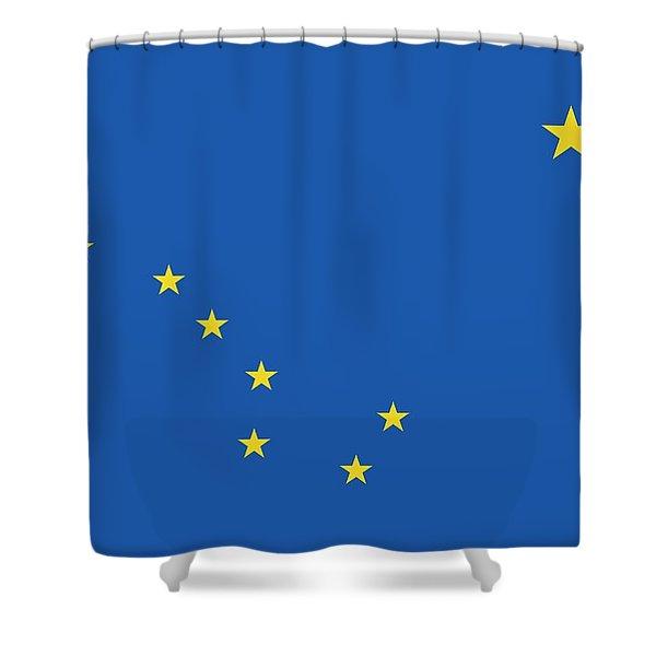 State Flag Of Alaska Shower Curtain