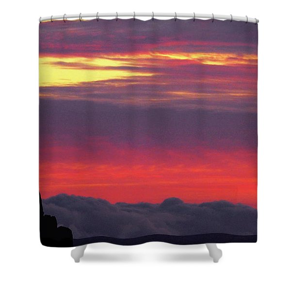 State Of Play Shower Curtain