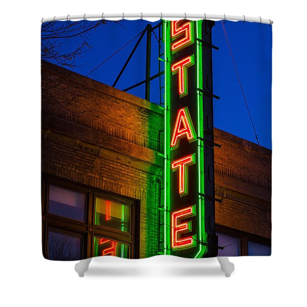 State Theatre - Ithaca Shower Curtain
