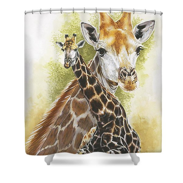 Stateliness Shower Curtain