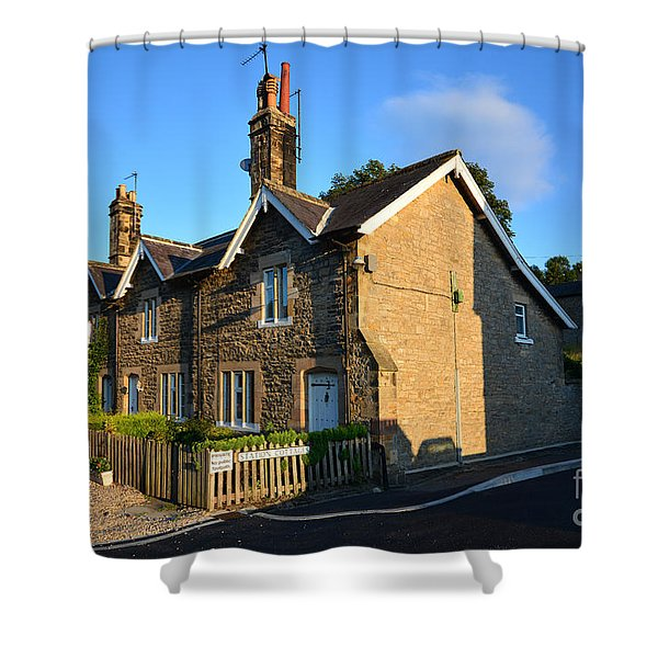Station Cottages, Richmond Shower Curtain