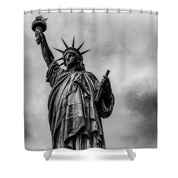 Statue Of Liberty Photograph Shower Curtain
